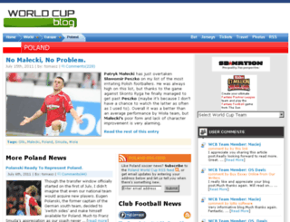 poland.worldcupblog.org screenshot