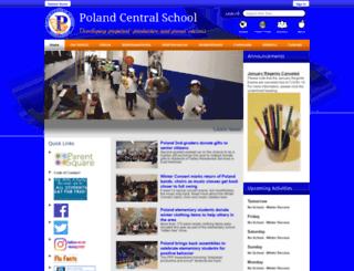 polandcsd.schoolwires.net screenshot