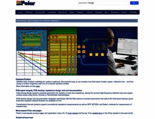 polarinstruments.com screenshot