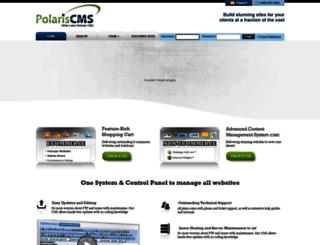 polariscms.com screenshot