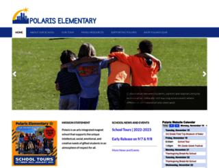 polarisprogram.dpsk12.org screenshot