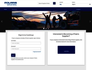 polarissuppliers.com screenshot