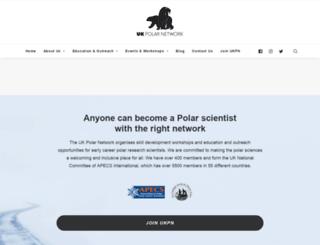 polarnetwork.org screenshot