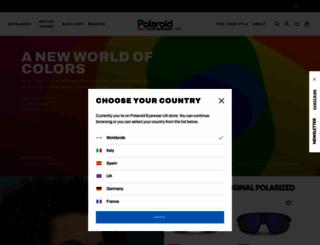 polaroideyewear.com screenshot