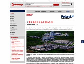 polbruk.budoskop.pl screenshot