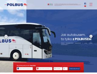 polbus.pl screenshot