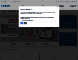 poldent.pl screenshot