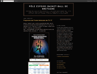 polebasketbretagne.blogspot.com screenshot