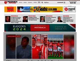 polemicaparaiba.com.br screenshot