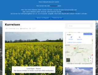 polen-kurreisen.de screenshot