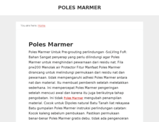 poles-marmer-jasa-poles-marmer.com screenshot