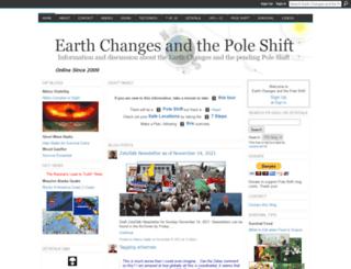 poleshift.ning.com screenshot