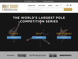 polesportorganization.com screenshot