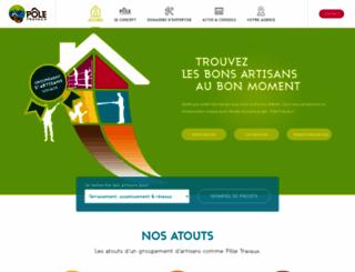 poletravaux.com screenshot