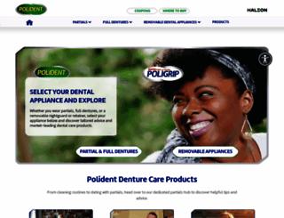 poli-partials.com screenshot