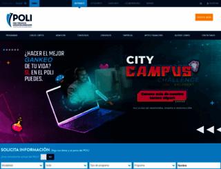 poli.edu.co screenshot