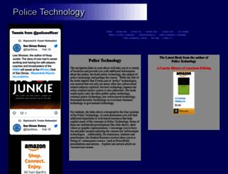 police-technology.net screenshot