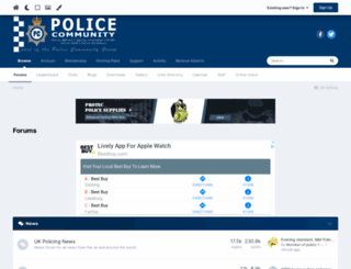 police.community screenshot