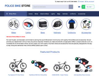 policebikestore.com screenshot