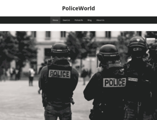 policeworld.net screenshot