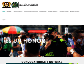 policia.edu.co screenshot