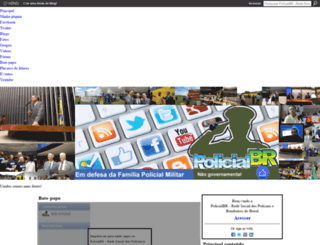 policialbr.ning.com screenshot