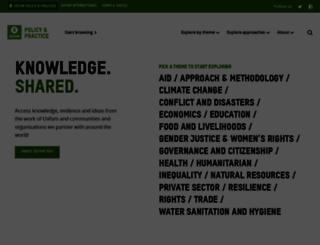 policy-practice.oxfam.org.uk screenshot