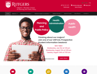 policy.rutgers.edu screenshot