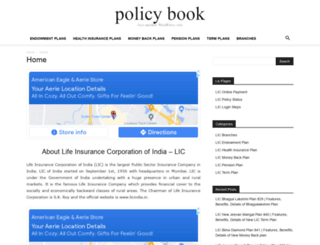policybook.in screenshot