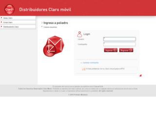 poliedrodist.comcel.com.co screenshot