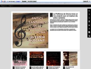 polifonicadegirona.blogspot.com.es screenshot