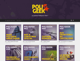 poligeek.fr screenshot