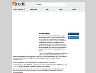 polimer.nedir.com screenshot