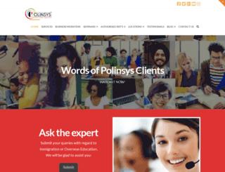polinsys.com screenshot