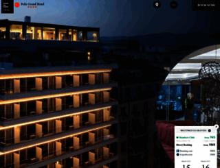 polisgrandhotel.gr screenshot