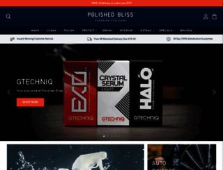 polishedbliss.co.uk screenshot