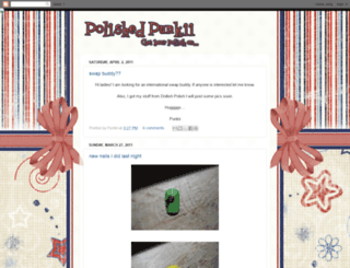 polishedpunkii.blogspot.com screenshot