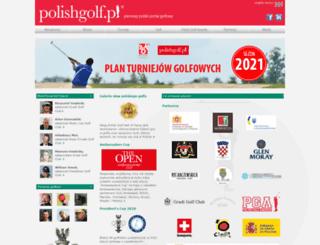 polishgolf.pl screenshot