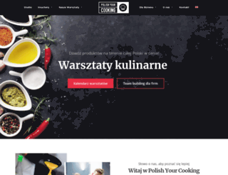 polishyourcooking.com screenshot