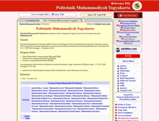 politeknik-muhammadiyah-yogyakarta.nomor.net screenshot