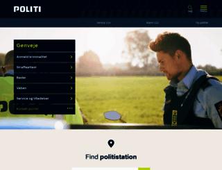 politi.dk screenshot