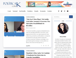politicacomk.com.br screenshot