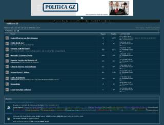 politicagz.forumfree.net screenshot