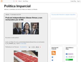 politicaimparcial.blogspot.com screenshot
