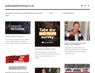 politicaladvertising.co.uk screenshot