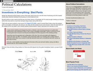 politicalcalculations.blogspot.com screenshot