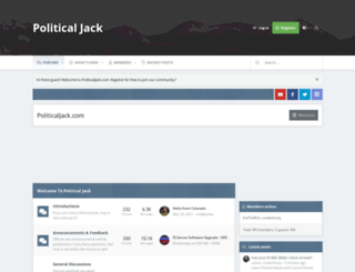 politicaljack.com screenshot