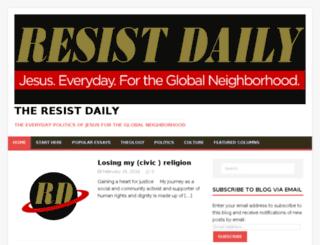 politicaljesus.com screenshot
