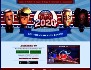 politicalmachine.com screenshot