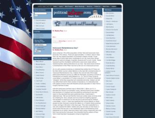 politicalmavens.com screenshot